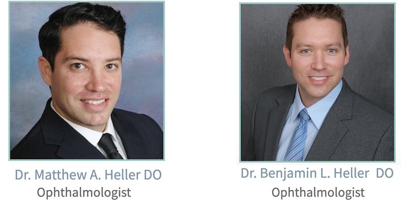 Dr Ben and Dr Matt Heller Ophthalmology Brothers Phoenix